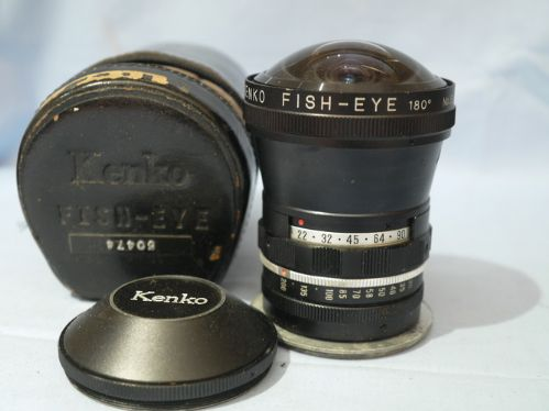 Kenko Fish Eye 180 Degree Conversion Lens Series VII -RARE- £49.99